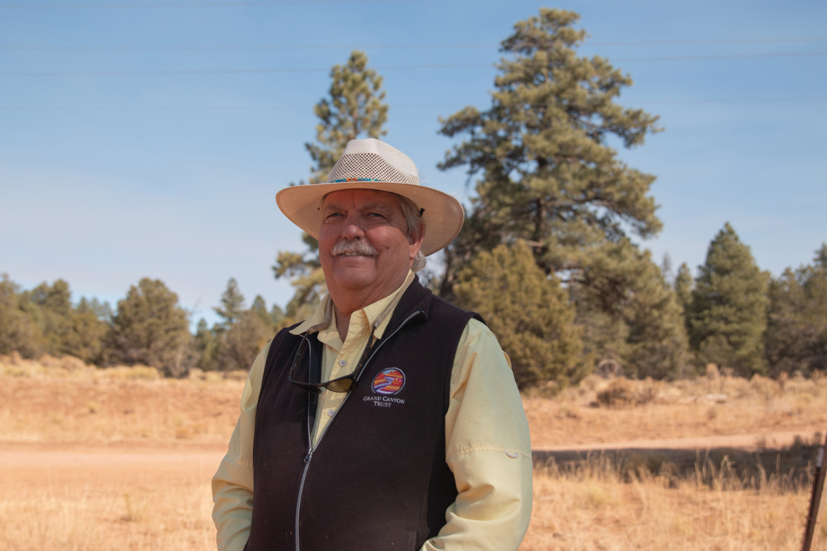 Roger Clark, program director for the Grand Canyon Trust, is concerned about the proposed hydroelectric storage projects would affect the endangered humpback chub, which live only in the Canyon. (Photo by Jake Eldridge/Cronkite News)