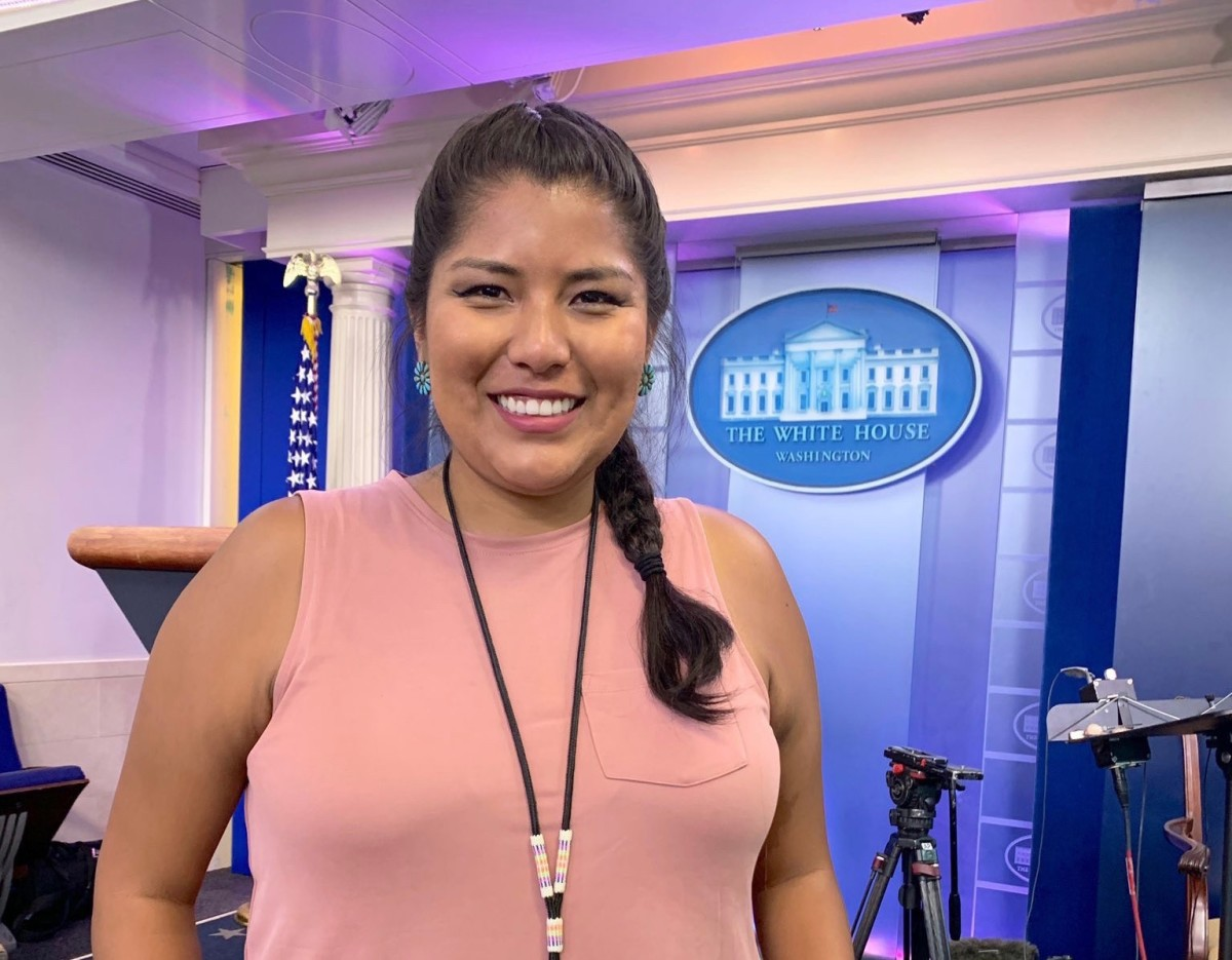 Indian Country Today's Jourdan Bennett-Begaye in the West Wing