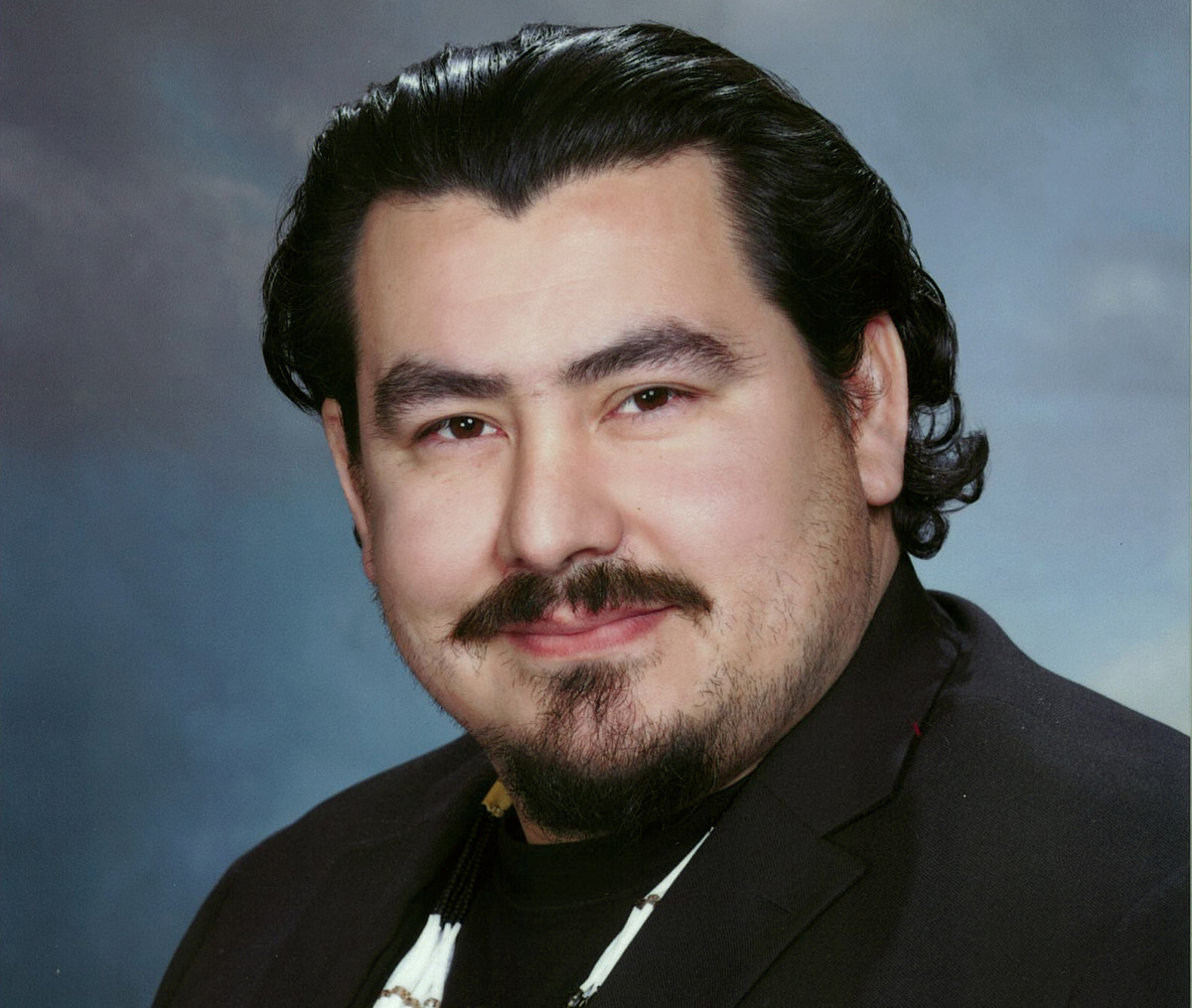 Pictured: Yurok Tribe Vice-Chairman Frankie Myers.