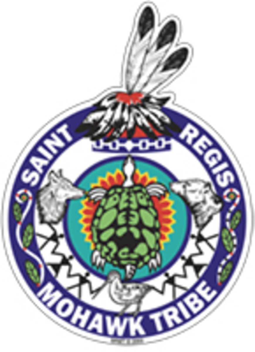 Saint Regis Mohawk Tribe - seal - small