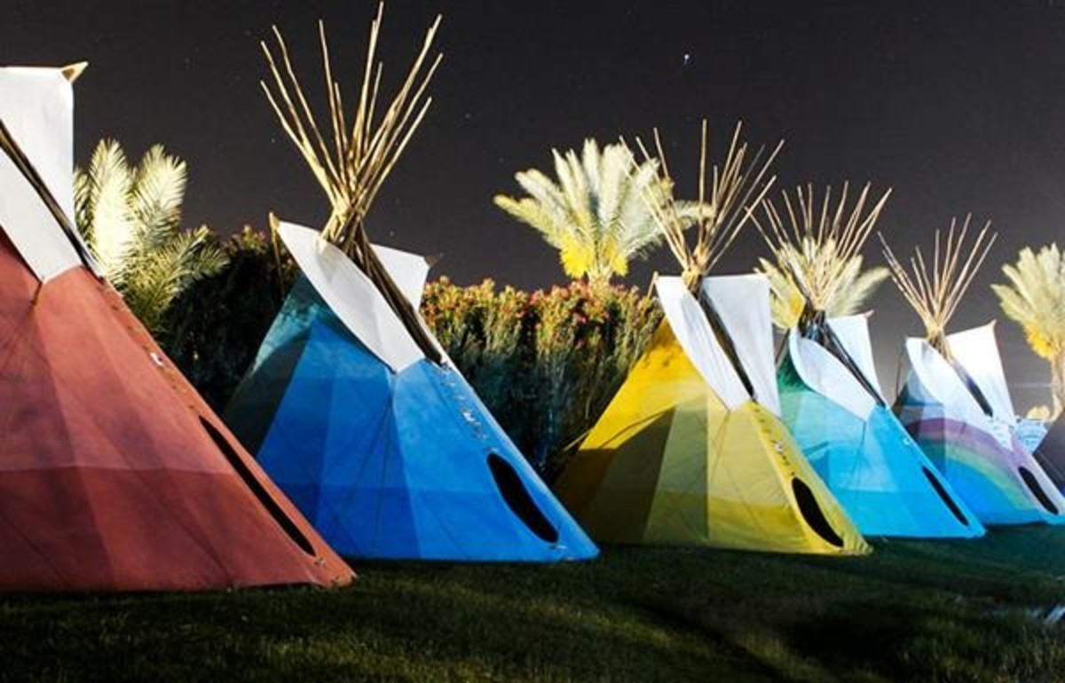 Coachella.com / Steer clear of the teepees.