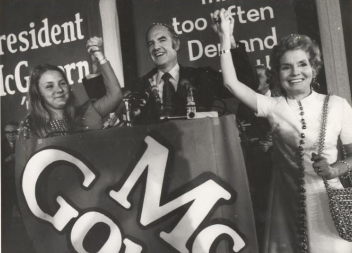 George McGovern's 1972 campaign for president.
