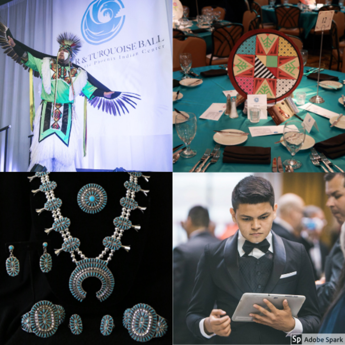 The 2019 Silver & Turquoise Ballfestivities include premier American Indian art auction items and entertainment.