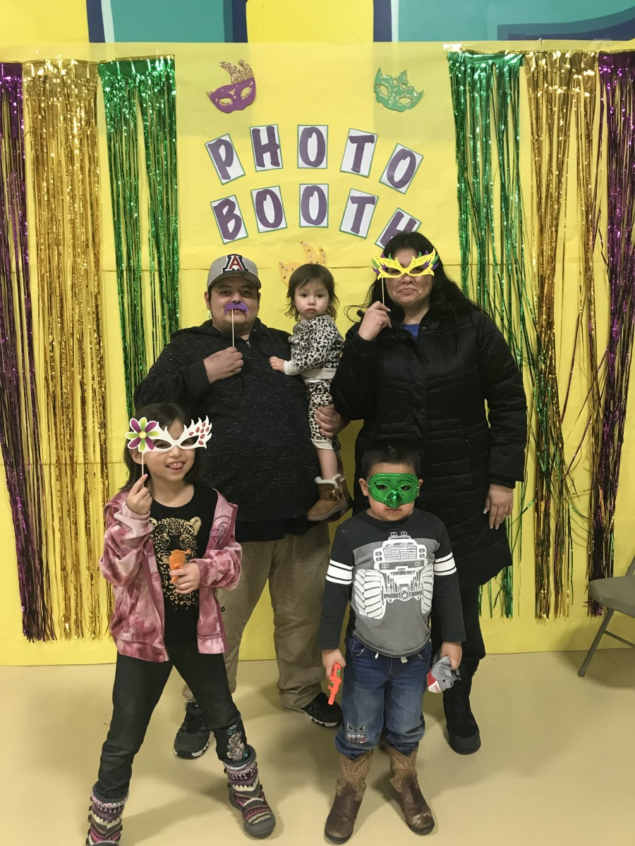 Cheyenne River Youth Project's Masquerade Ball & Community Dinner was a family-friendly event.