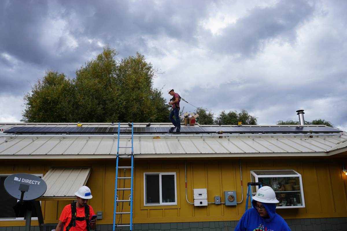 Funding awarded to the Spokane Tribe of Indians enabled the tribe to invest in a large-scale cost-saving solar project.
