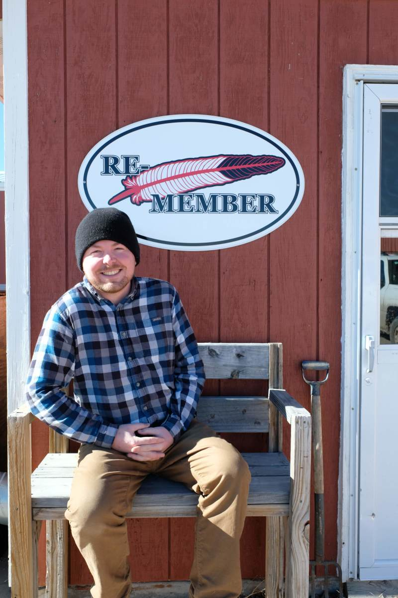 Cory True, executive director of the Re-Member Center. (Photo by Mary Annette Pember)