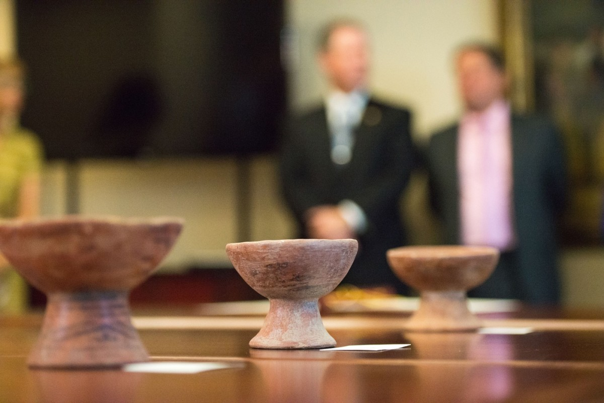 The FBI's Art Crime Team is trying to identify the rightful owners of more than 7,000 artifacts seized in Indiana that came from locations spanning the globe. (Courtesy FBI)