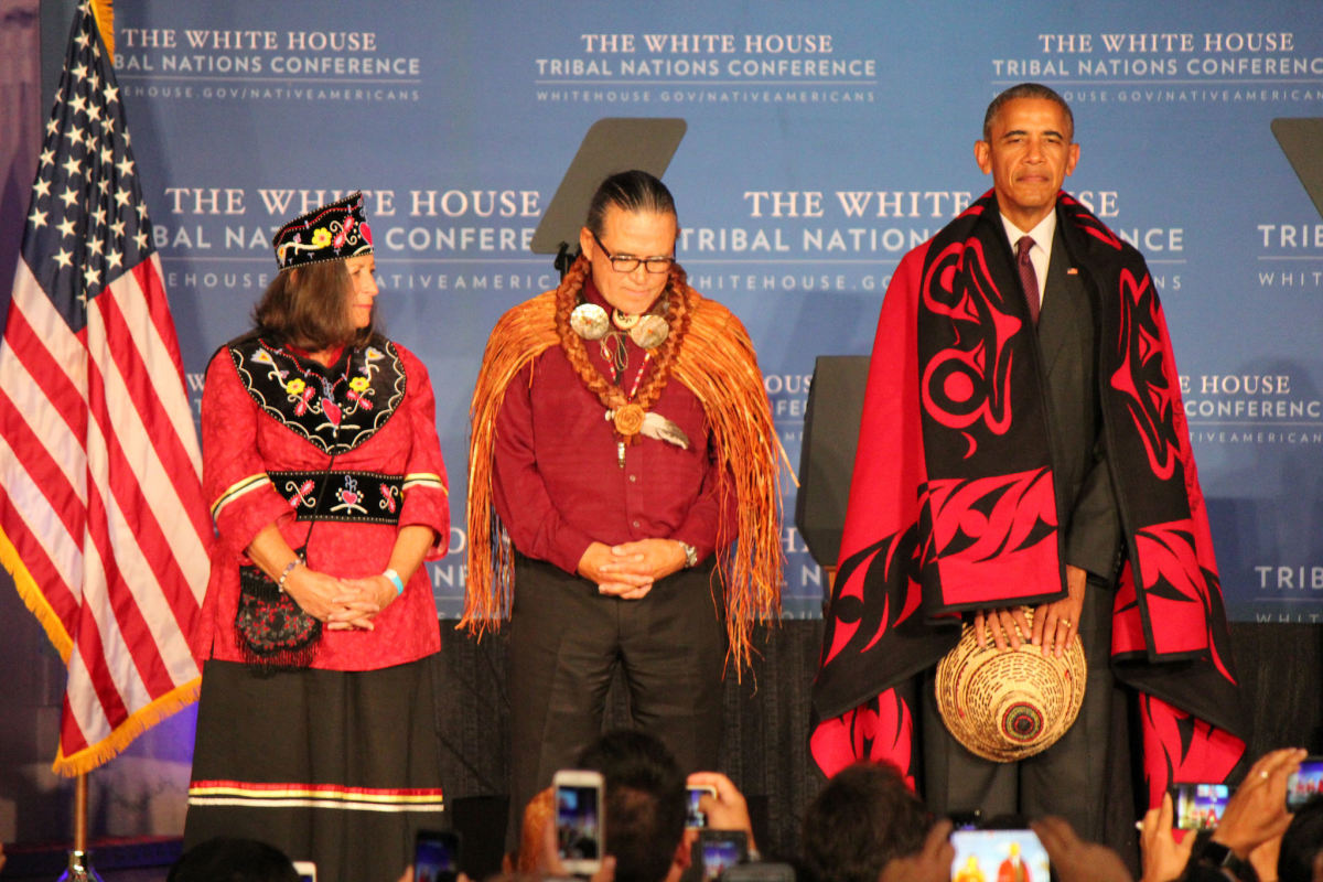 White House Tribal Nations Conference during the Obama administration.