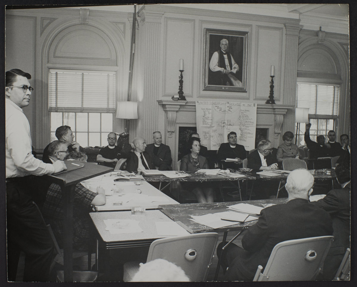 Tribal leaders, the National Congress of American Indians and others at a meeting.