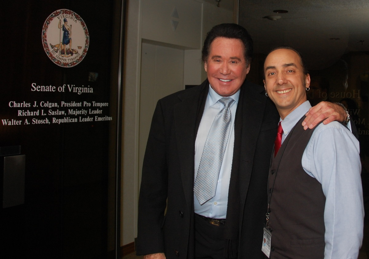 Wayne Newton gave me great advice I will never forget.
