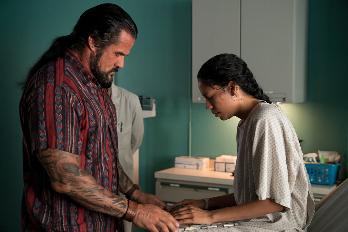 The chemistry between Sasha Yazzie (Rose) and her Uncle Frank was masterful in 'Chambers.'