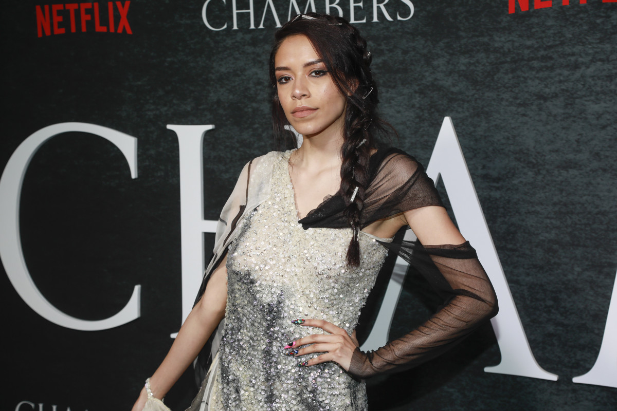 """Sivan Alyra Rose attends the season one premiere of Netflix's """"Chambers"""" at Metrograph on Monday, April 15, 2019, in New York. (Photo by Andy Kropa/Invision/AP)"""