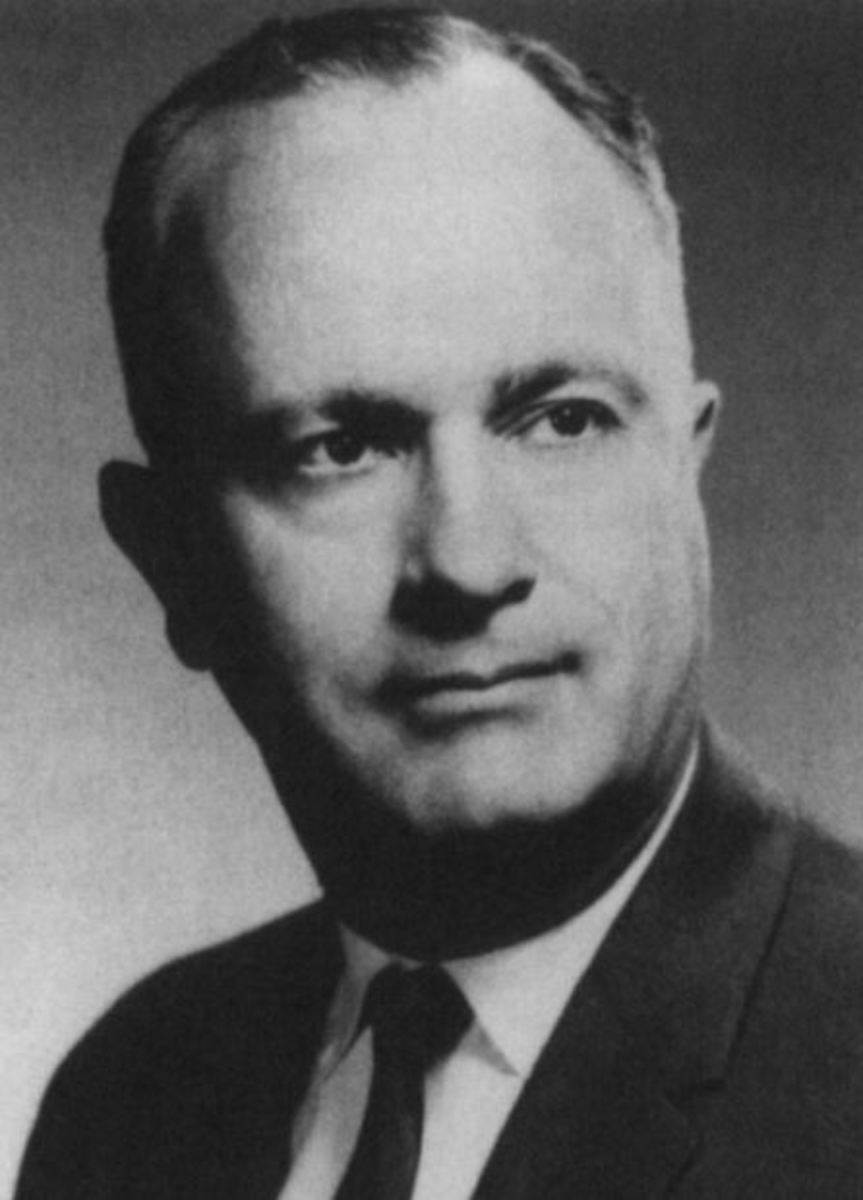 Max Rafferty, California superintendent of public schools from 1962 to 1970.