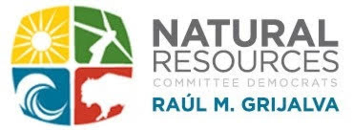 Democrats on the House Natural Resources Committee - Grijalva logo