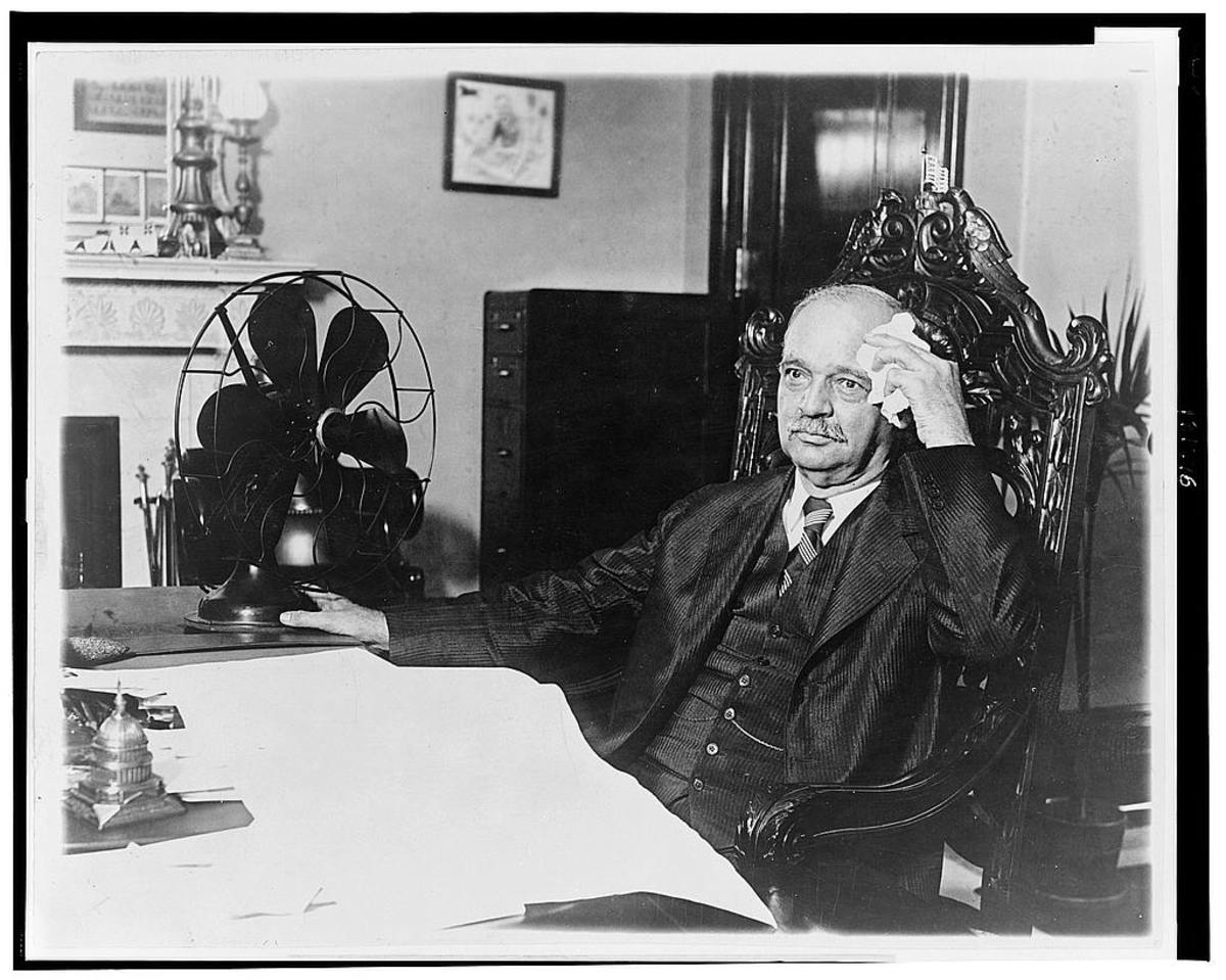 Vice President Charles Curtis, Kaw Tribe. Photo: Library of Congress.