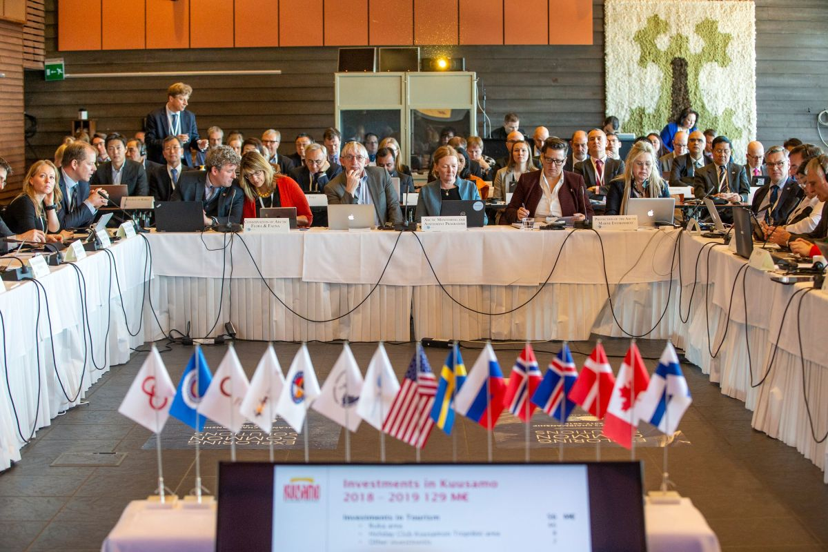 Senior Arctic Officials' met in March 2019 in Ruka, Kuusamo Finland, to prepare for the Ministerial Conference. Photo: Ministry for Foreign Affairs of Finland/Kaisa Sirén