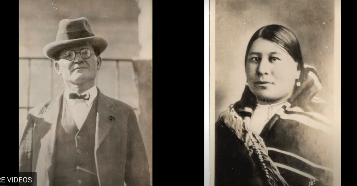 William Hale and Mollie Burkhart. (Photo courtesy of the Kansas City Library)