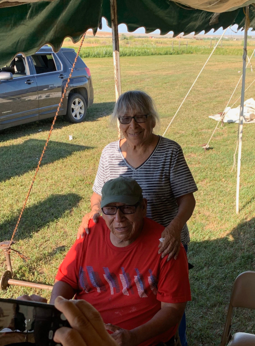 Gloria and Larry Wheeler, Northern Arapaho, died from COVID-19 on April 20, 2020. Larry was 78 and Gloria was 74. (Photo courtesy of the Wheeler Family)