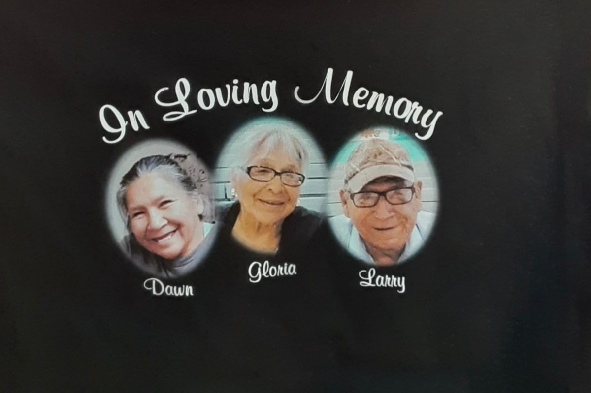 Dawn, Gloria, and Larry Wheeler died from COVID-19 on April 20, 2020. (Photo courtesy of the Wheeler Family)