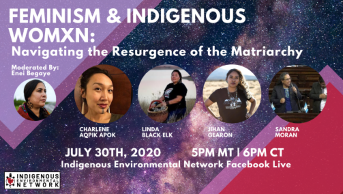 Feminism & Indigenous Womxn - The Resurgence of the Matriarchy graphic