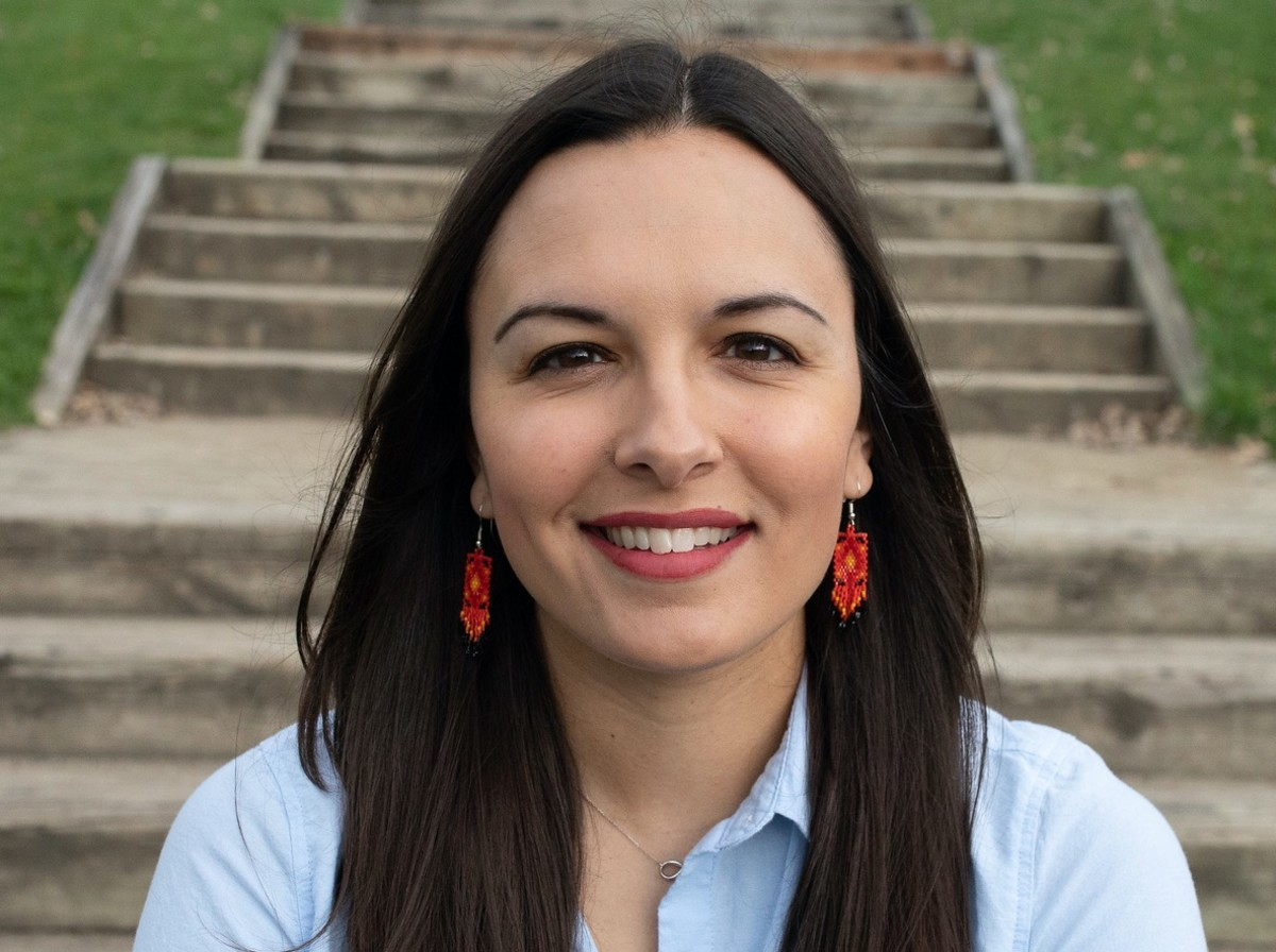 Katrina Phillips, Red Cliff Band of Lake Superior Ojibwe tribe, is an assistant professor of history at Macalester College. (Photo courtesy of Katrina Phillips)