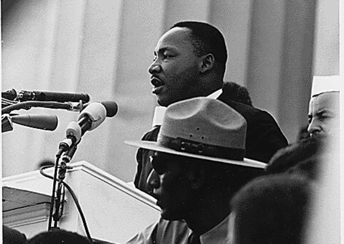 Dr. Martin Luther King, Washington D.C., March on Washington 1963. (National Archives)