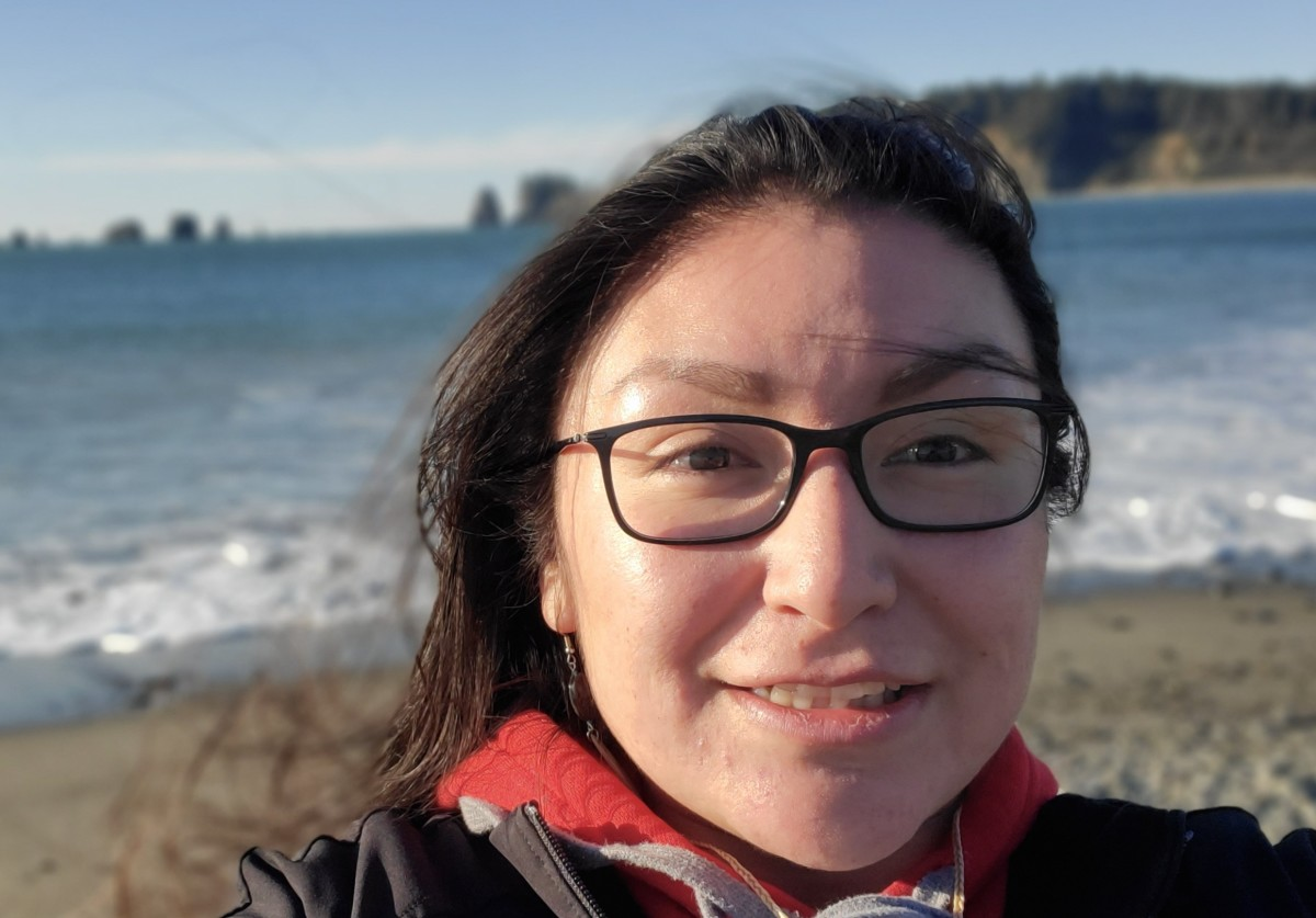 Valerie Ross Zhawendaagozikwe is a doula with Fond du Lac Band of Lake Superior Chippewa. (Photo courtesy of Valerie Ross Zhawendaagozikwe)