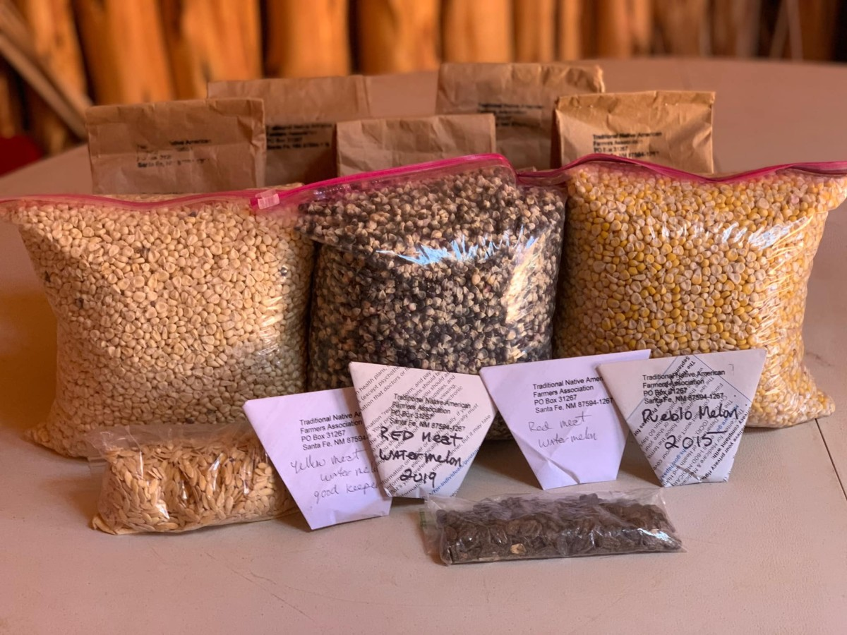 Food security is an ongoing challenge in Indian Country, and COVID-19 is prompting new efforts to address the problem. Seeds and Sheep has shipped thousands of drought-resistant seed packets all across the Navajo Nation. (Photo courtesy of Utah Diné Bikéyah)