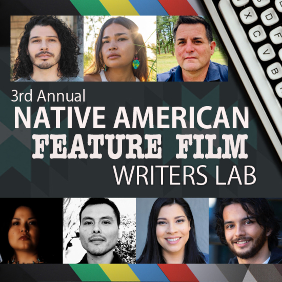 2020 Native American Feature Writers Lab graphic