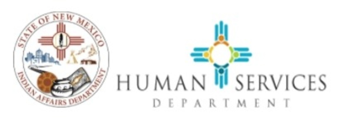 New Mexico Indian Affairs Department and New Mexico Human Services Department - logos