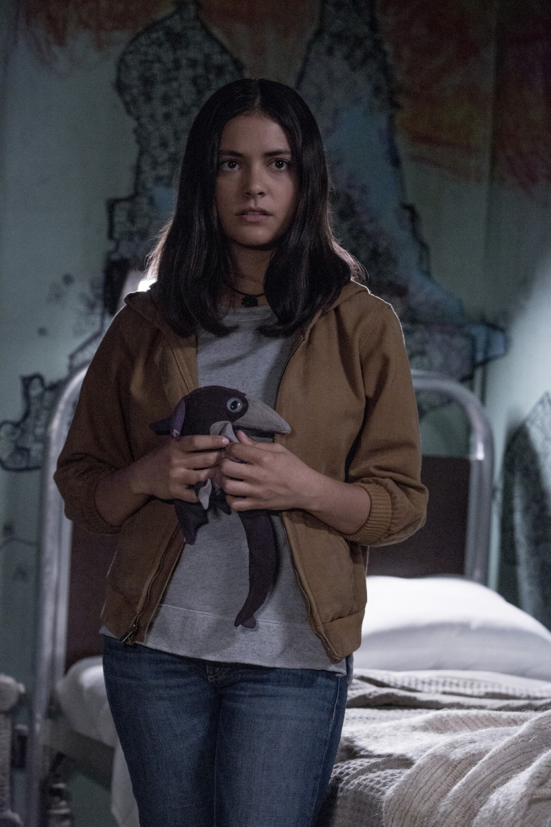 Blu Hunt as Danielle Moonstar in 20th Century Studios' THE NEW MUTANTS. Photo by Claire Folger. © 2020 Twentieth Century Fox Film Corporation. All Rights Reserved.