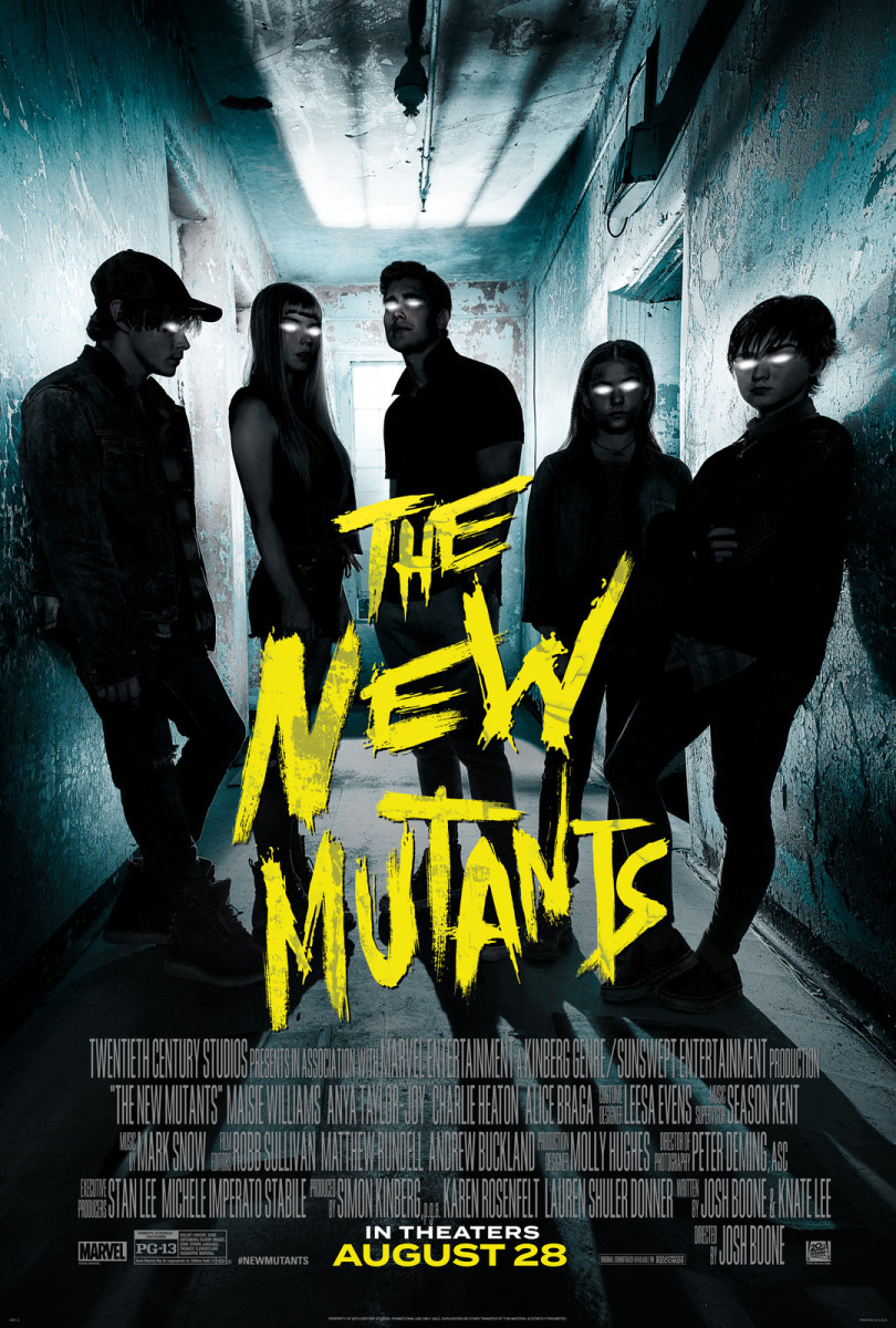 20th Century Studios' THE NEW MUTANTS. Poster courtesy of 20th Century Studios. © 2020 Twentieth Century Fox Film Corporation. All Rights Reserved.