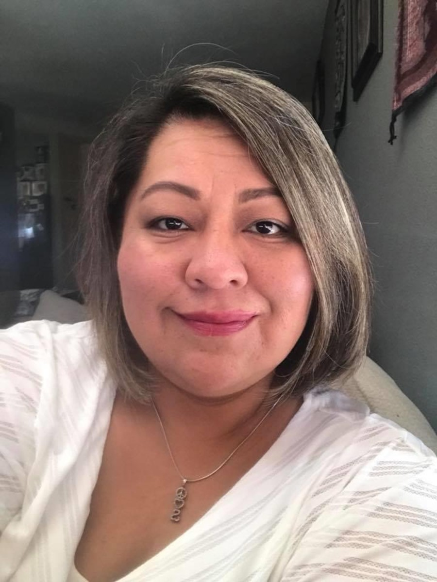 Corrina Thinn, a licensed social worker, tended to a COVID-19 patient at Arizona's Tuba City Regional Health Care in early March while not wearing personal protective equipment, according to her sister Chris.(THE THINN FAMILY, Kaiser Health News)