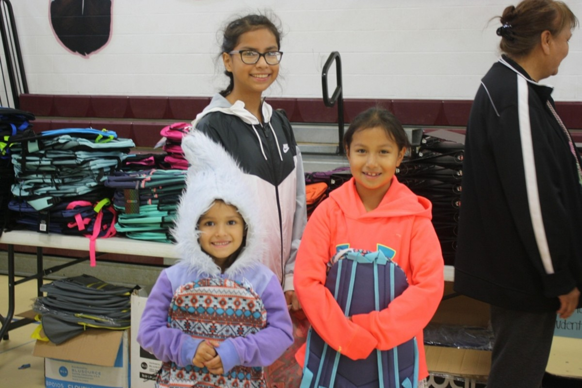 Pictured: Cheyenne River Youth Project asks supporters to sponsor youth in its School Supplies Drive.