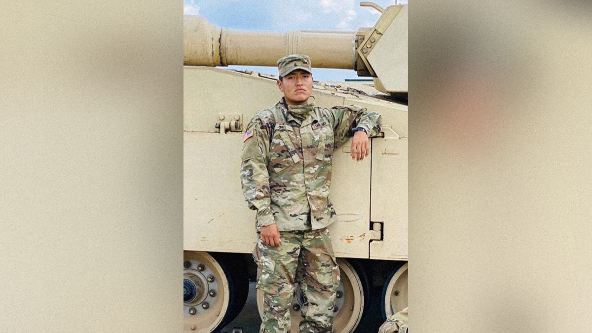 Pvt. Corlton L. Chee, 25, from Pinehill, New Mexico died on Sept. 2, days after he collapsed during physical training on Aug. 28. (Photo courtesy of the U.S. Army)