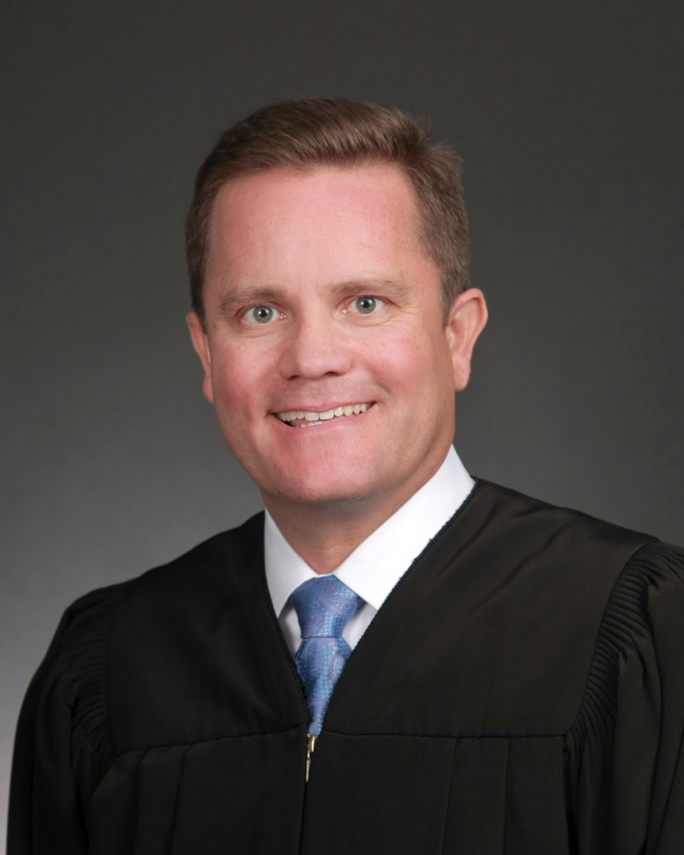 Oklahoma Supreme Court Justice Dustin Rowe, Chickasaw. Rowe was appointed in 2019. (Photo courtesy of Oklahoma Supreme Court website)