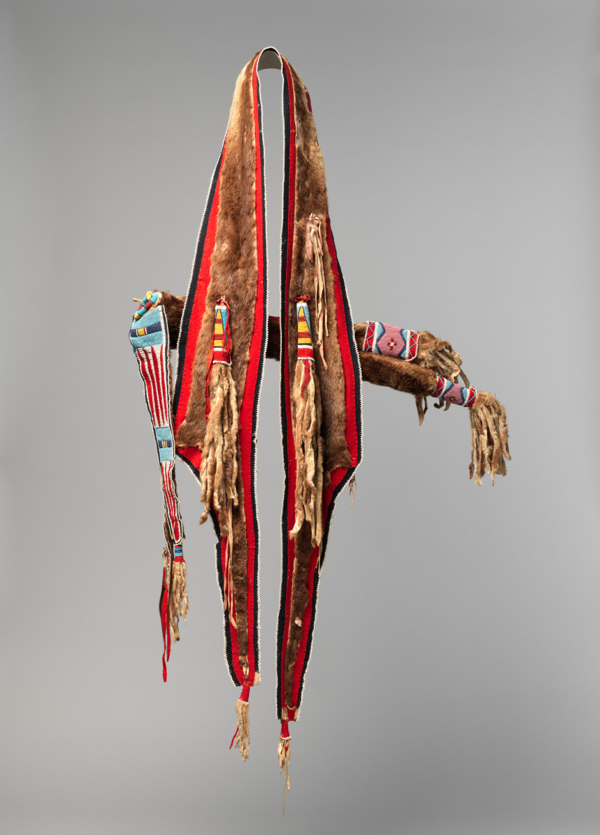 Bowcase and quiver, Nex Perce, 1870, Diker Collection (Photo courtesy of the Met)