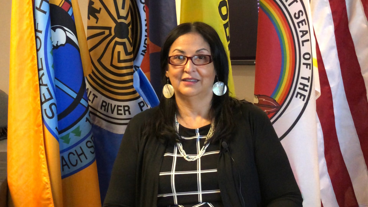 Maria Dadger is executive director of the Intertribal Council of Arizona. (Photo by Patty Talahongva)