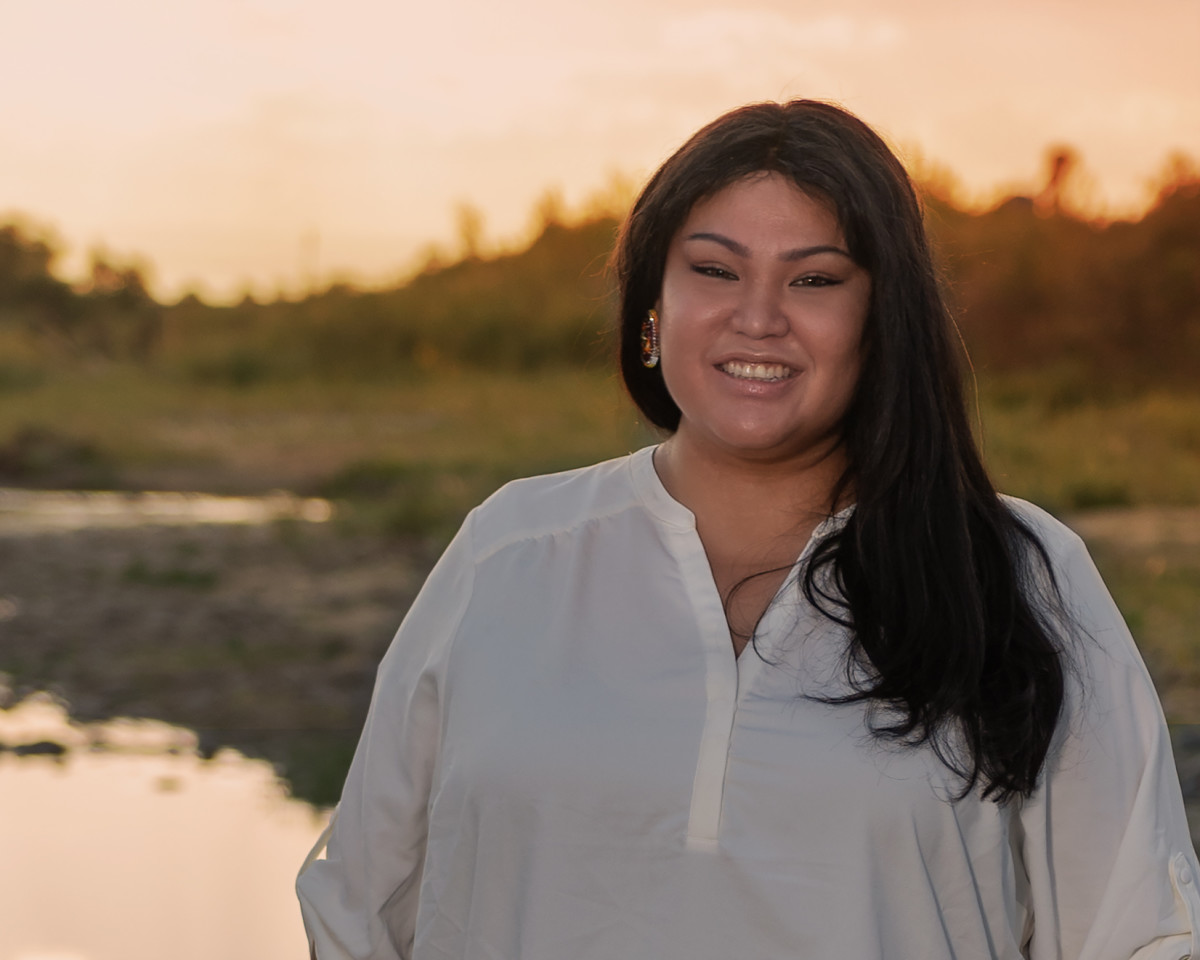 Lynnette Grey Bull, Northern Arapaho and Hunkpapa Lakota, oversees the Northern Arapaho Tribal Housing Department's Emergency Rental Assistance Program, helping get federal pandemic funds to people who need assistance with housing and electricity. (Photo courtesy of Lynnette Grey Bull)