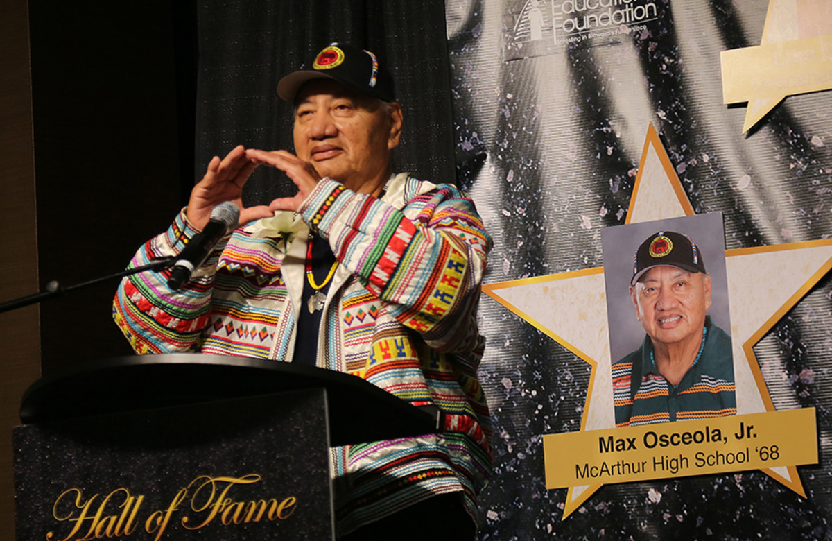 Max Osceola Jr. (Photo courtesy of the Seminole Tribune)