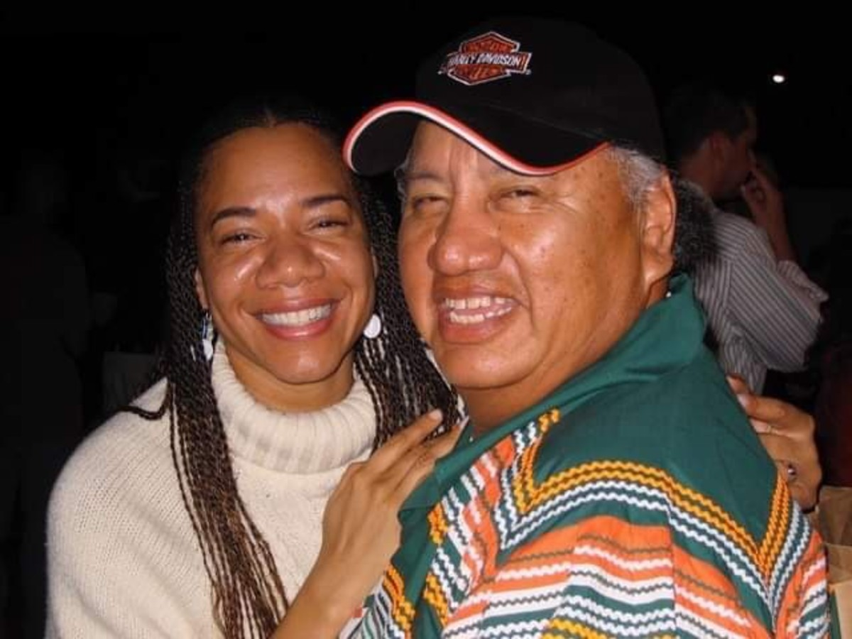 Martha Redbone and Max Osceola (Photo courtesy Martha Redbone)