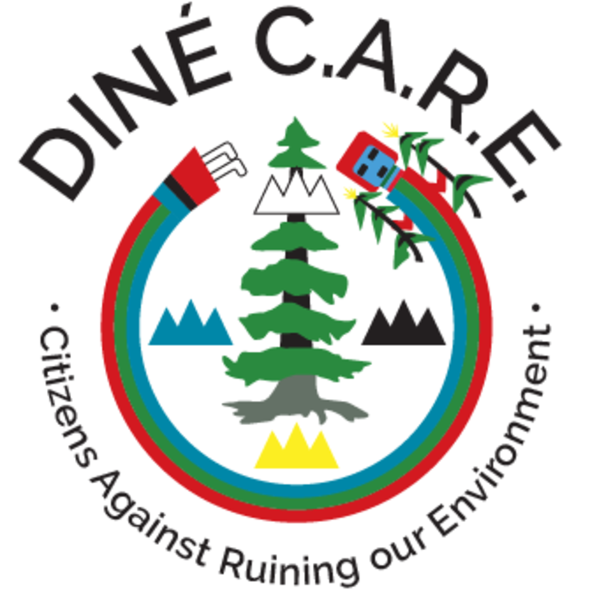Diné Citizens Against Ruining our Environment, DINE CARE, Navajo Nation - logo
