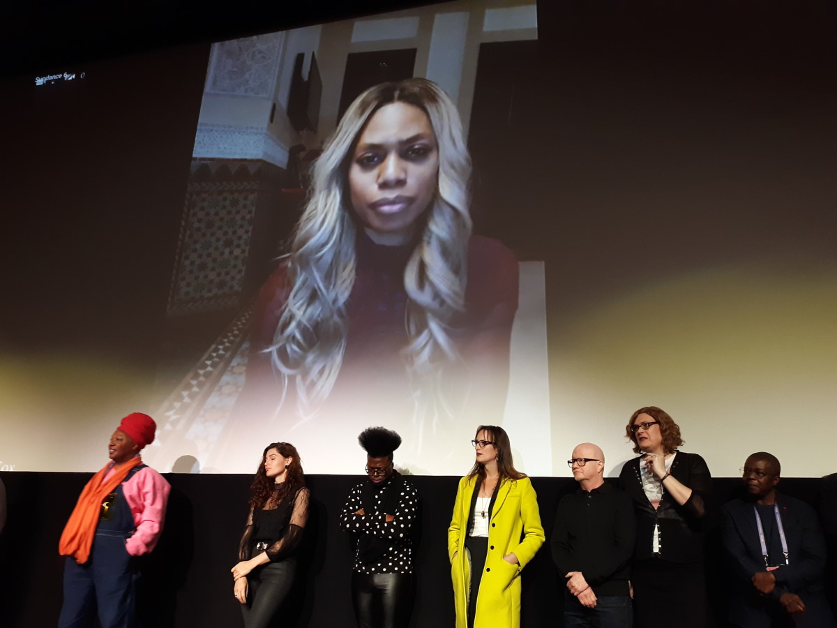 "Earlier this year I attended the Sundance film festival in Park City, Utah. One of the festival events that sticks with me was the world premiere of ""Disclosure: Trans Lives on Screen."" (Photo: Adrian L. Jawort)"
