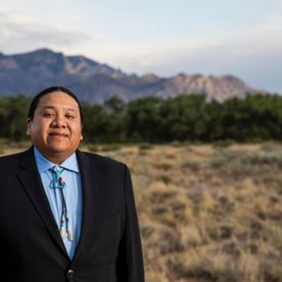 Kevin Killer, newly elected president of the Oglala Sioux Tribe. (photo courtesy Kevin Killer)