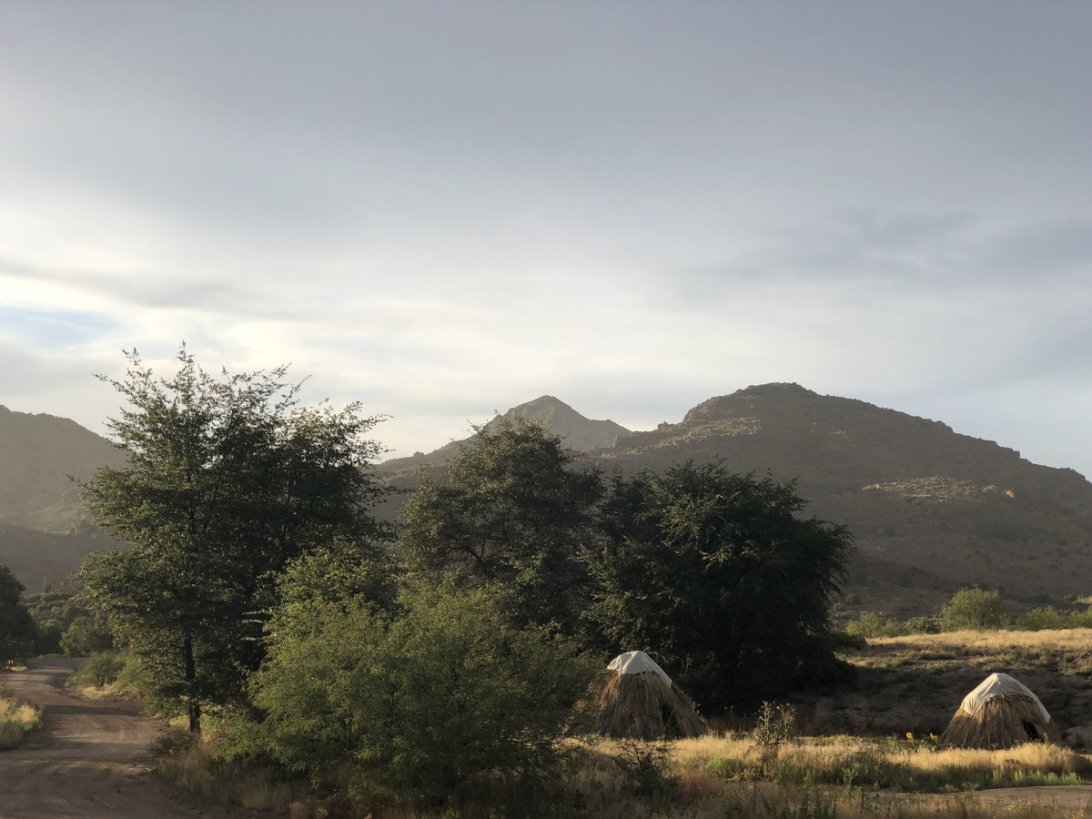 Opponents of the Resolution Copper Mine say it will damage land sacred to the San Carlos Apache and pose environmental threats. The mine, pointing to years of project review, says it's committed to being a good neighbor. (Photo by Russ McSpadden/Courtesy Center for Biological Diversity)