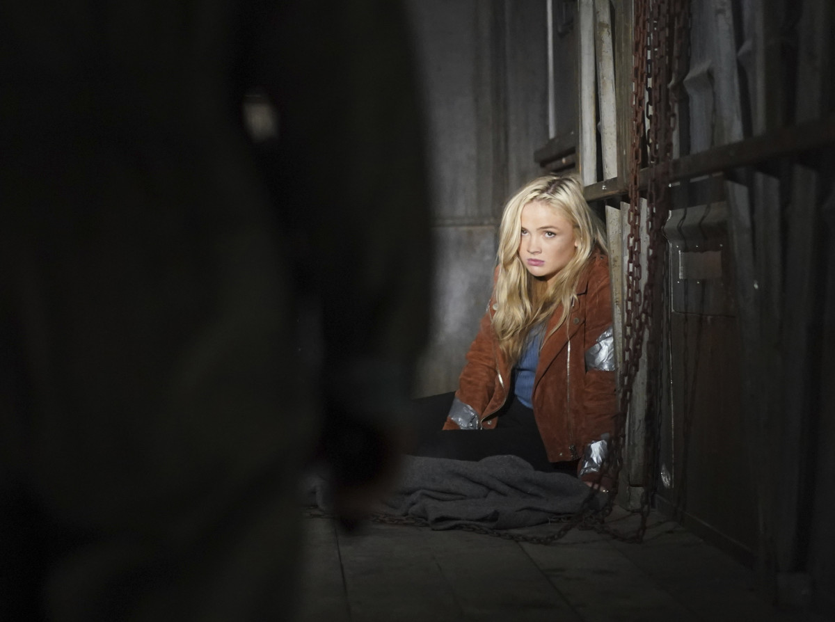 """This image released by ABC shows Natalie Alyn Lind in a scene from """"Big Sky."""" Native American tribes and coalitions are condemning """"Big Sky,"""" a Montana-set ABC drama, for ignoring the history of violence inflicted on Indigenous women and instead making whites the crime victims. (Darko Sikman/ABC via AP)"""