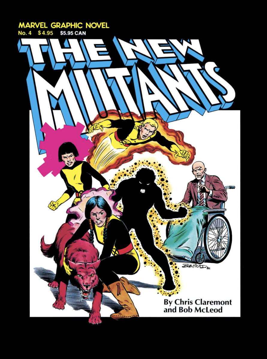 Marvel Graphic Novel 4 - The New Mutants