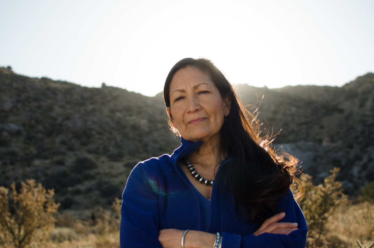Rep. Deb Haaland, Laguna and Jemez Pueblos, is poised to be selected by President-elect Joe Biden to lead the Department of Interior. (Photo by Haaland for Congress)