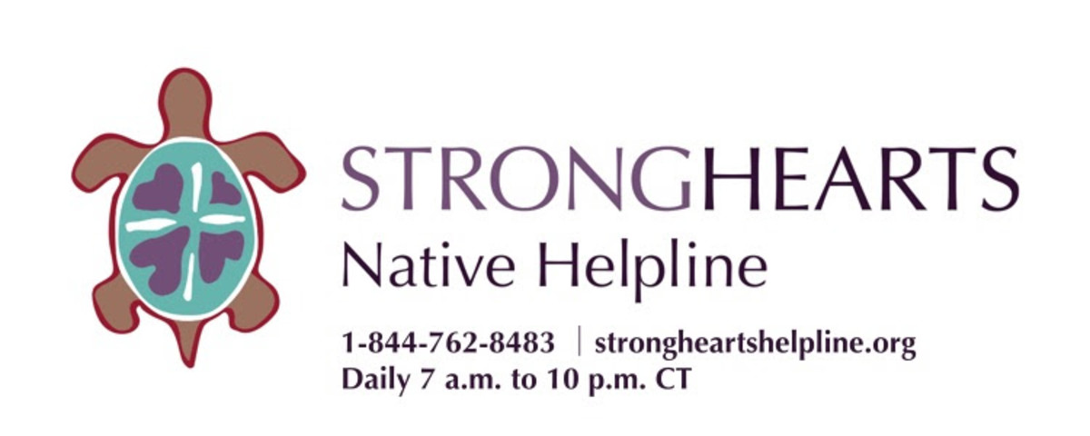 StrongHearts Native Helpline - logo 2020