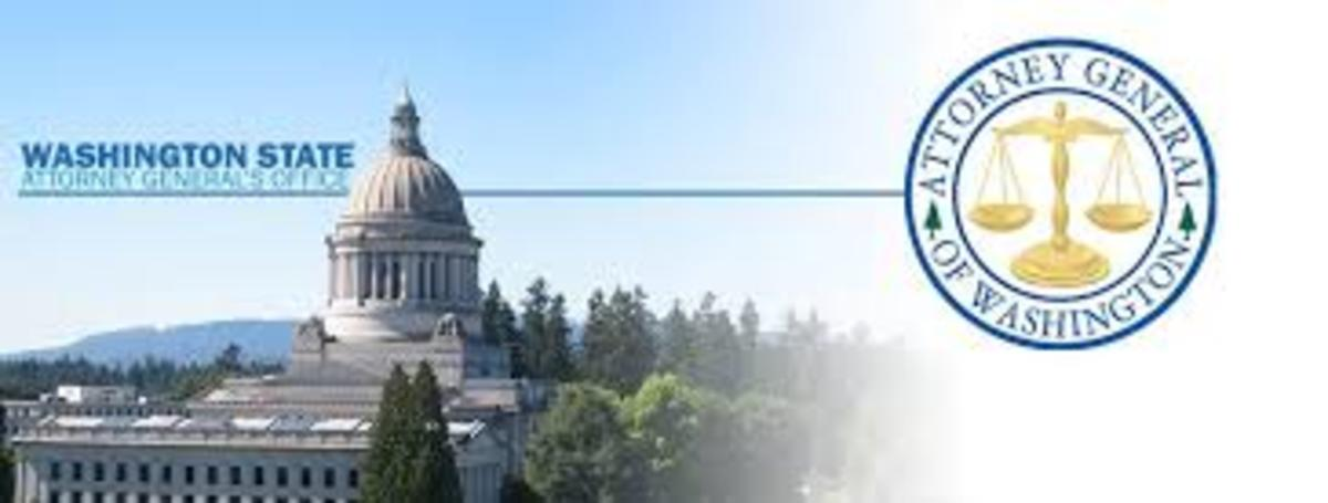 Washington State Office of the Attorney General - banner logo image